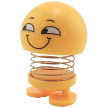 عروسک ایموجی فنری لبخند